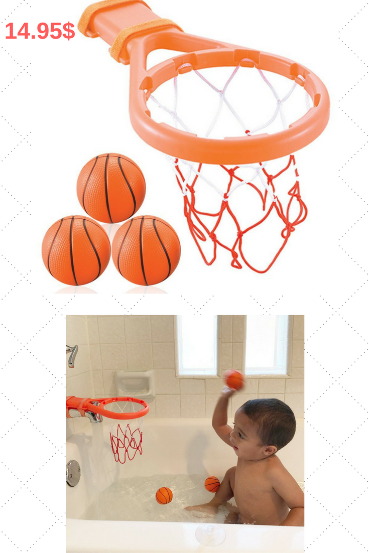Makes A Great Gift Kids And Toddlers Love This Fun Bathtub Basketball Toy And Will Love You For It Bath Toys For Toddlers Toddler Gifts Toys Gift