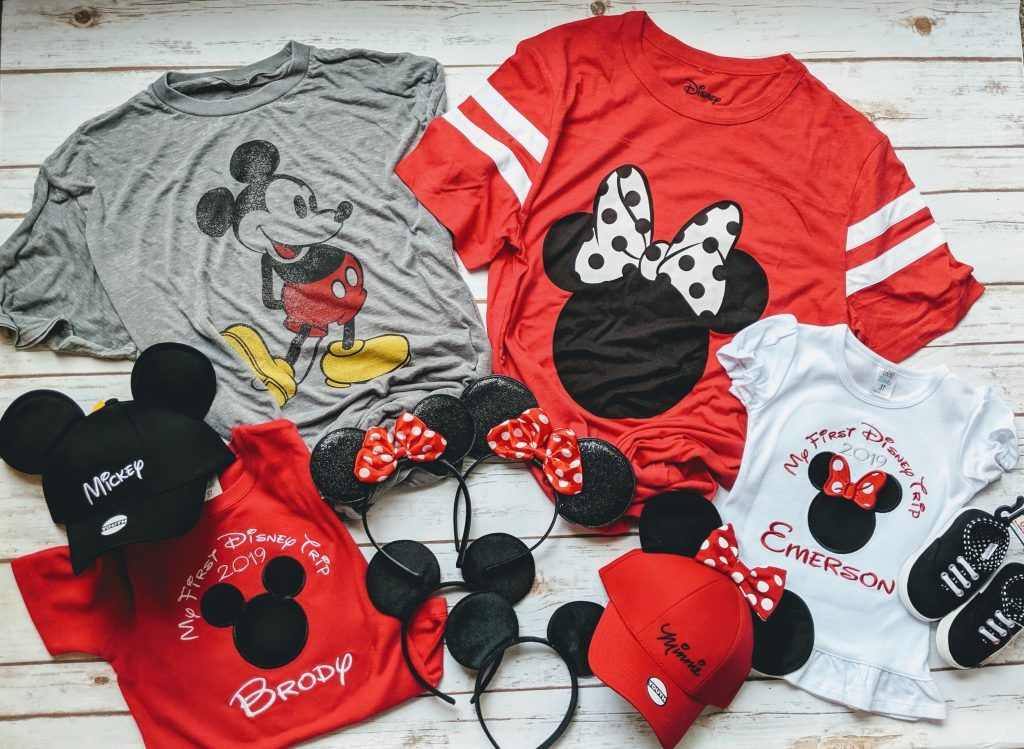 What to wear to Disney World Family outfit ideas for