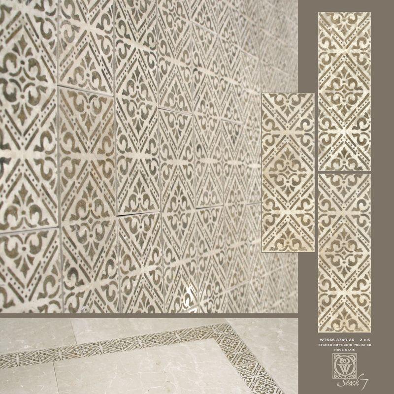 Decorative Stone Tile Decorative Etched Stone Tiles  Backsplash Dot Insert Wainscot