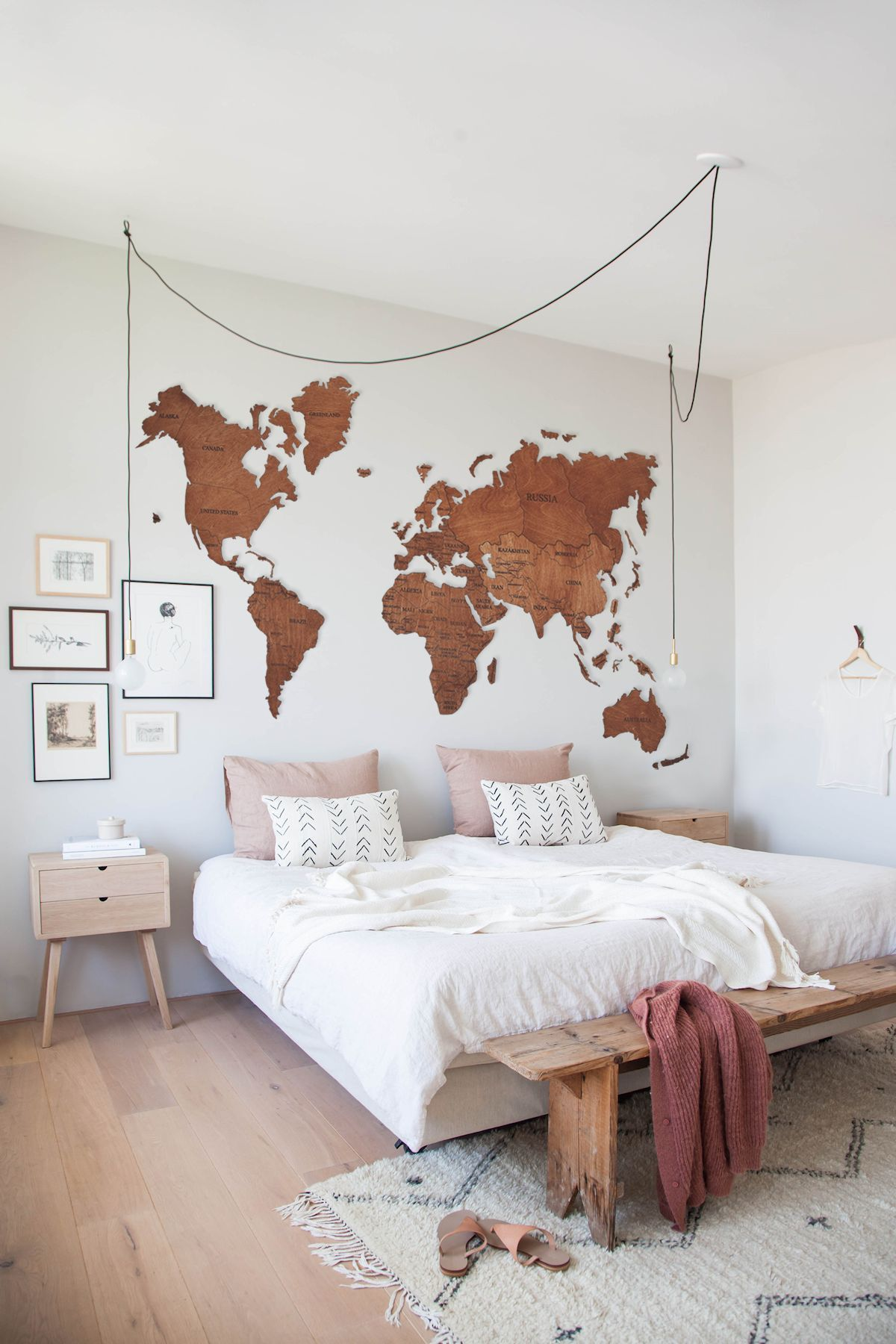 Wood Wall Art Wall Map Of The World Map Wooden Travel Push Pin Map Rustic Home 5th Anniversary Lover Gift Wall Decor Halloween Decor Map Wall Decor World Map Wall Art