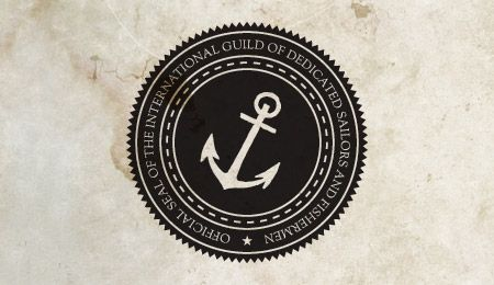Circle Retro Logo.....