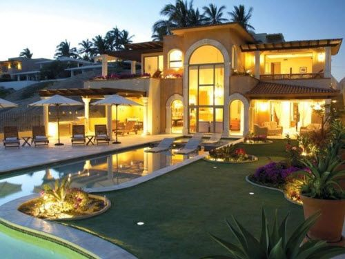 Super Mansion Mansions Beachfront House Luxury Homes Dream Houses