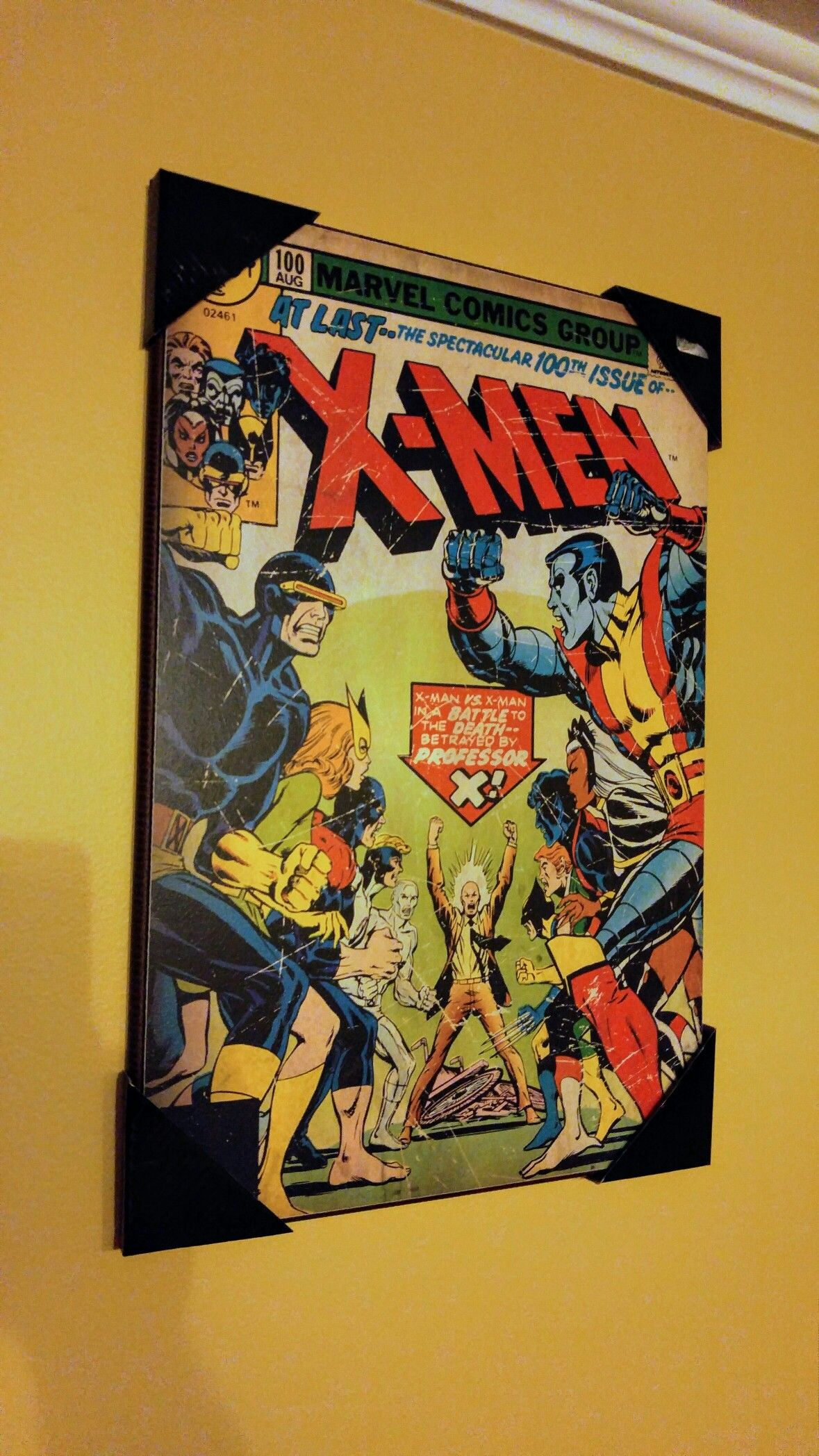 Old Fashioned Comic Book Wall Decor Composition - The Wall Art ...