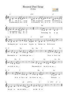 Resensi Musik Partitur Lagu Not Balok Angka Indonesia Barat Lagu Psikologi Musik