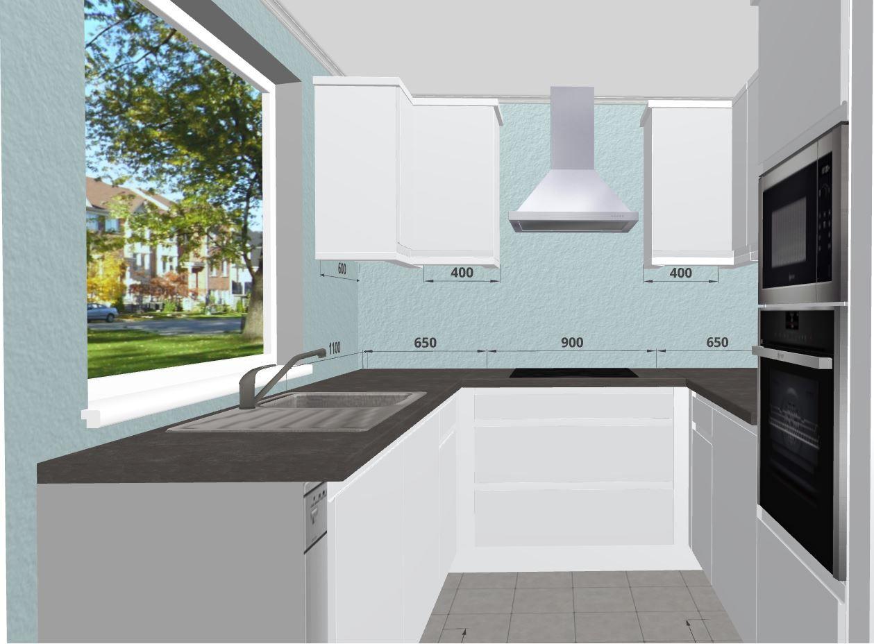 Small Space White Kitchen With Quartz Worktops Free 3d Kitchen Planner Kitchen Planner Online Kitchen Design Kitchen Inspiration Design