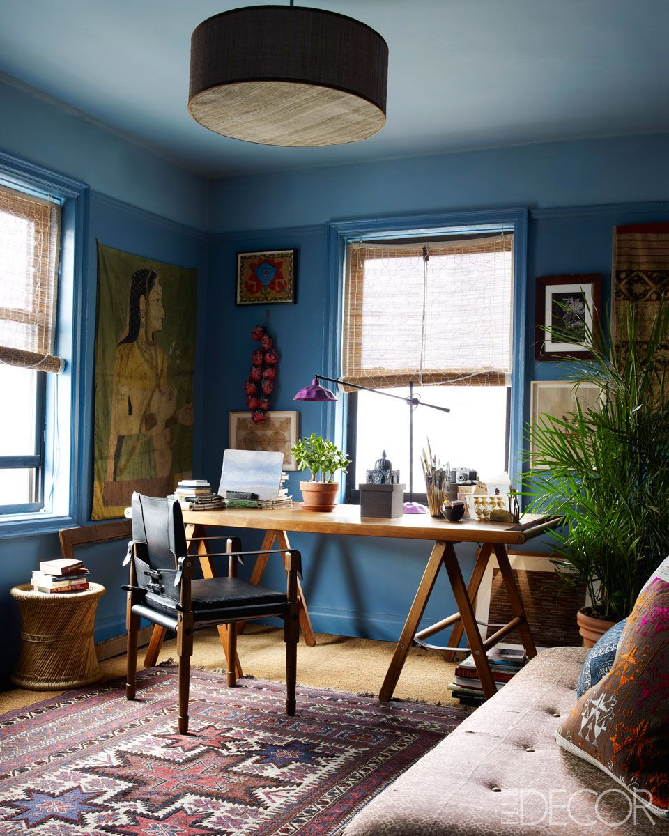 Home and Abroad: John Robshaw\'s New York City Home | Elle decor ...