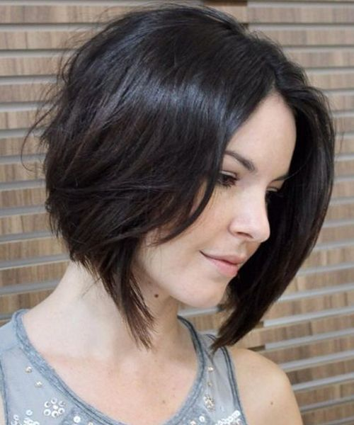 23 Overwhelming A Line Short Bob Hairstyles 2018 For Women With Fine