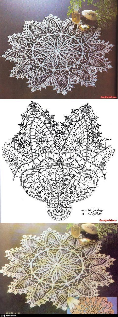 crochet lace | Strings and things | Pinterest | Carpeta, Ganchillo y ...
