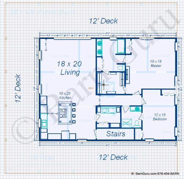 2 Bedroom Apt Horse Barn Barn With Living Quarters Barn