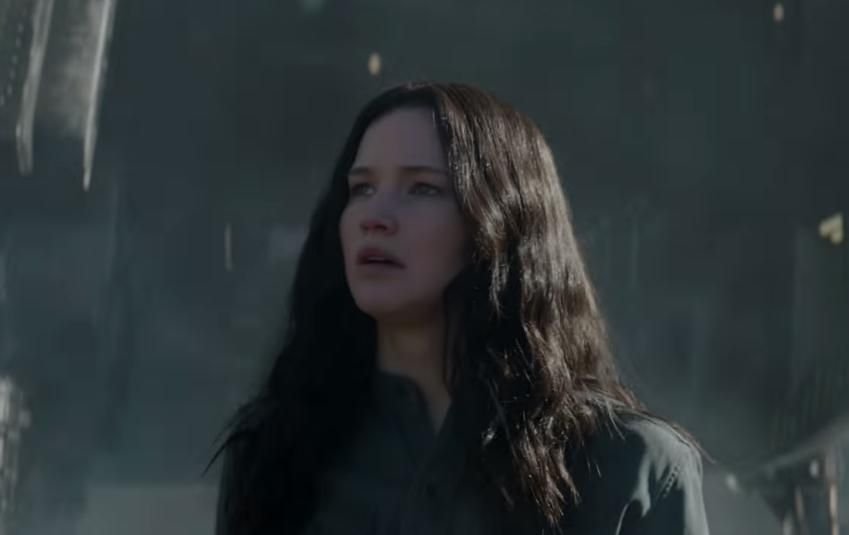Watch Jennifer Lawrence in Hunger Games trailer teaser