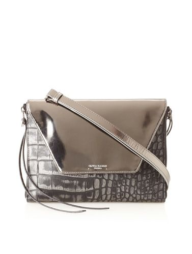 55 Off Olivia Harris Hunger Cocco Convertible Clutch Ipad Case Black