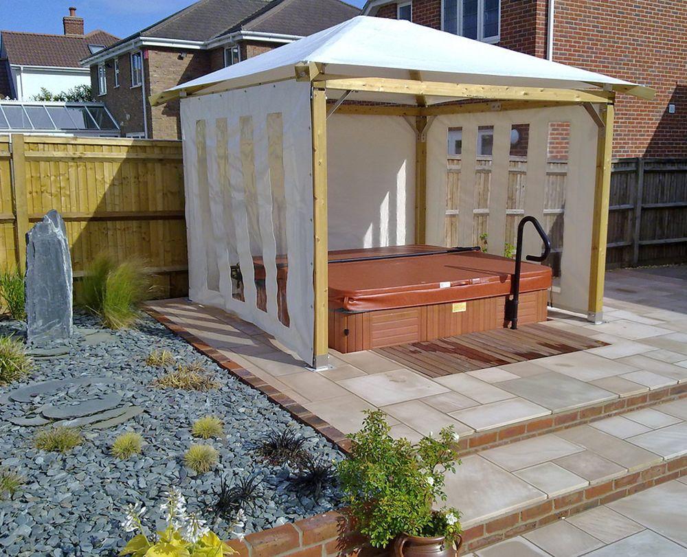 Hot Tub Enclosures Photo Ideas Plan In 2020 Hot Tub Gazebo Hot Tub Outdoor Affordable Hot Tub