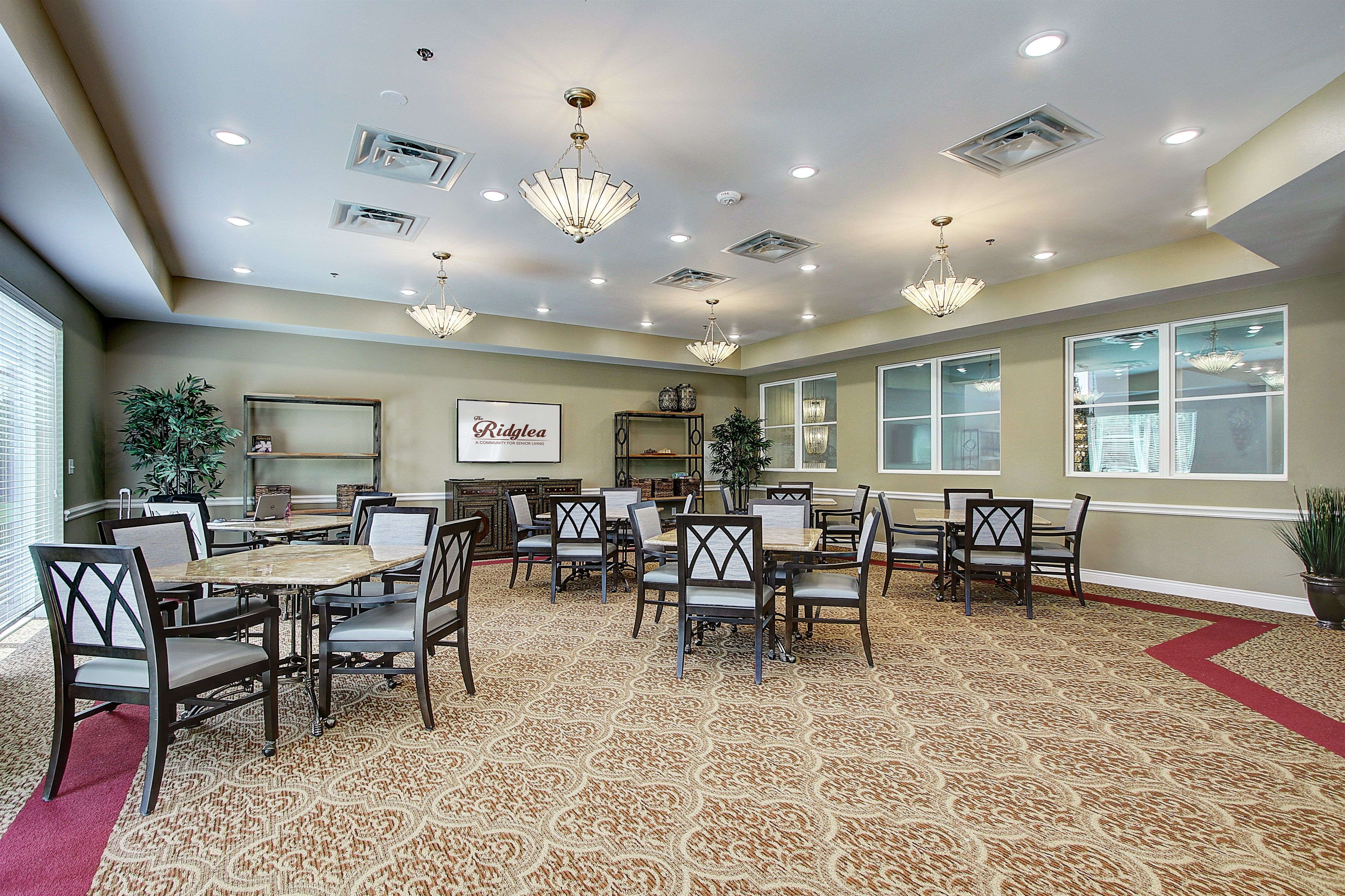 It Starts With Our Surroundings Resort Inspired Our Neighborhood Beautifully Balances Privacy Safety Assisted Living Senior Living Senior Living Communities