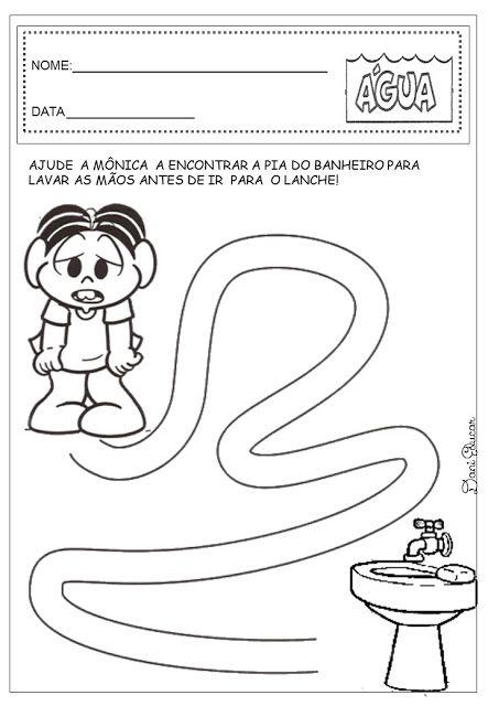 Preferência Dani Educar : Atividades água educação infantil | PROJETO AGUA  SB17