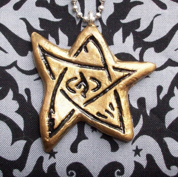 Elder sign pendant done in copper want love of lovecraft elder sign pendant done in copper want aloadofball Choice Image