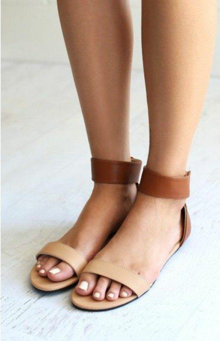 b6f0bf1801f Les dernières tendances chez les sandales plates!
