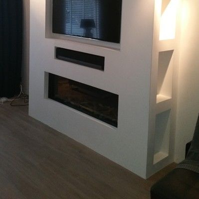 Image result for inbouwhaard met tv home ideas Pinterest TVs - led für wohnzimmer