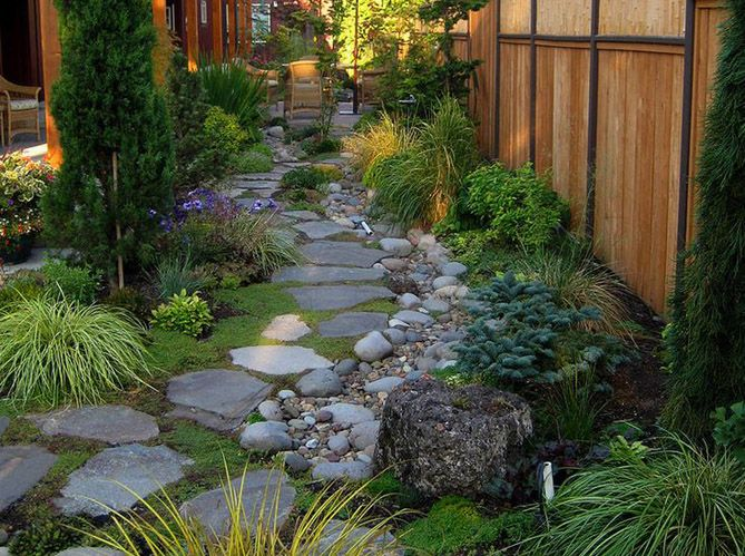 comment cr er un jardin alpin sur une terrasse gardens garden paths and side yards On faire une rocaille au jardin