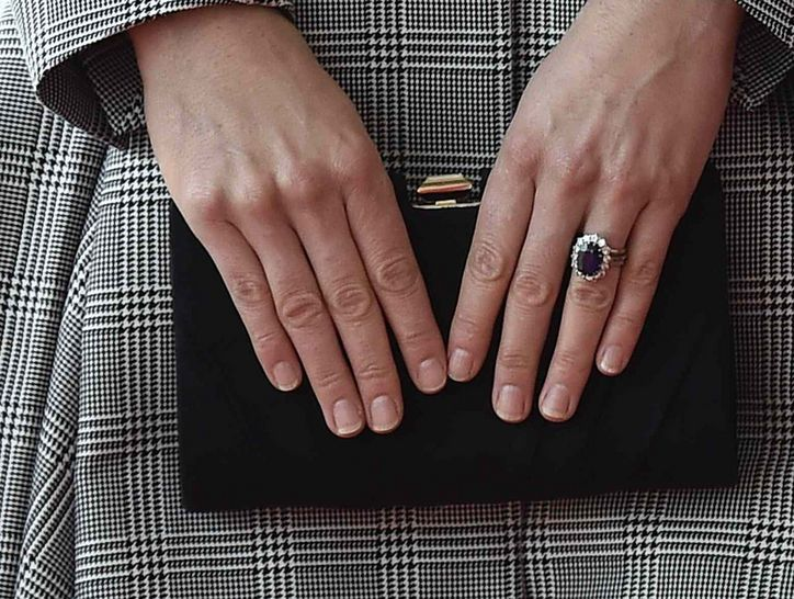 Whats Up With Kate Middletons THIRD Ring on That Finger Three