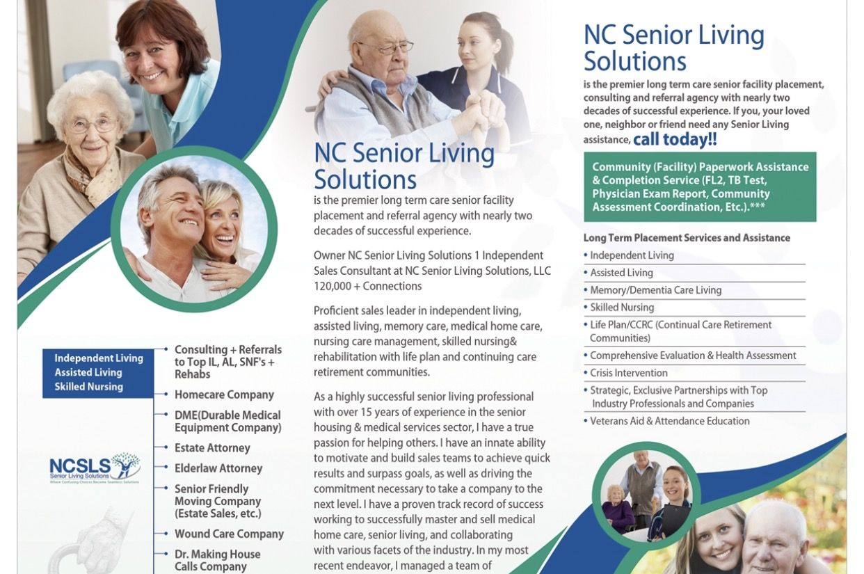 Pin by NC Senior Living Solutions on Seniors Senior