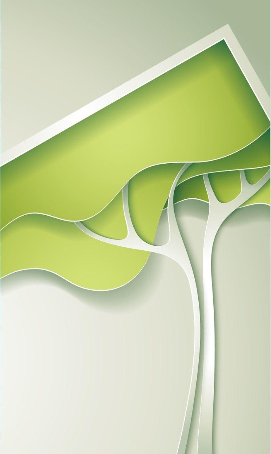 Abstract Tree Wallpaper Desain Buku Sampul Buku