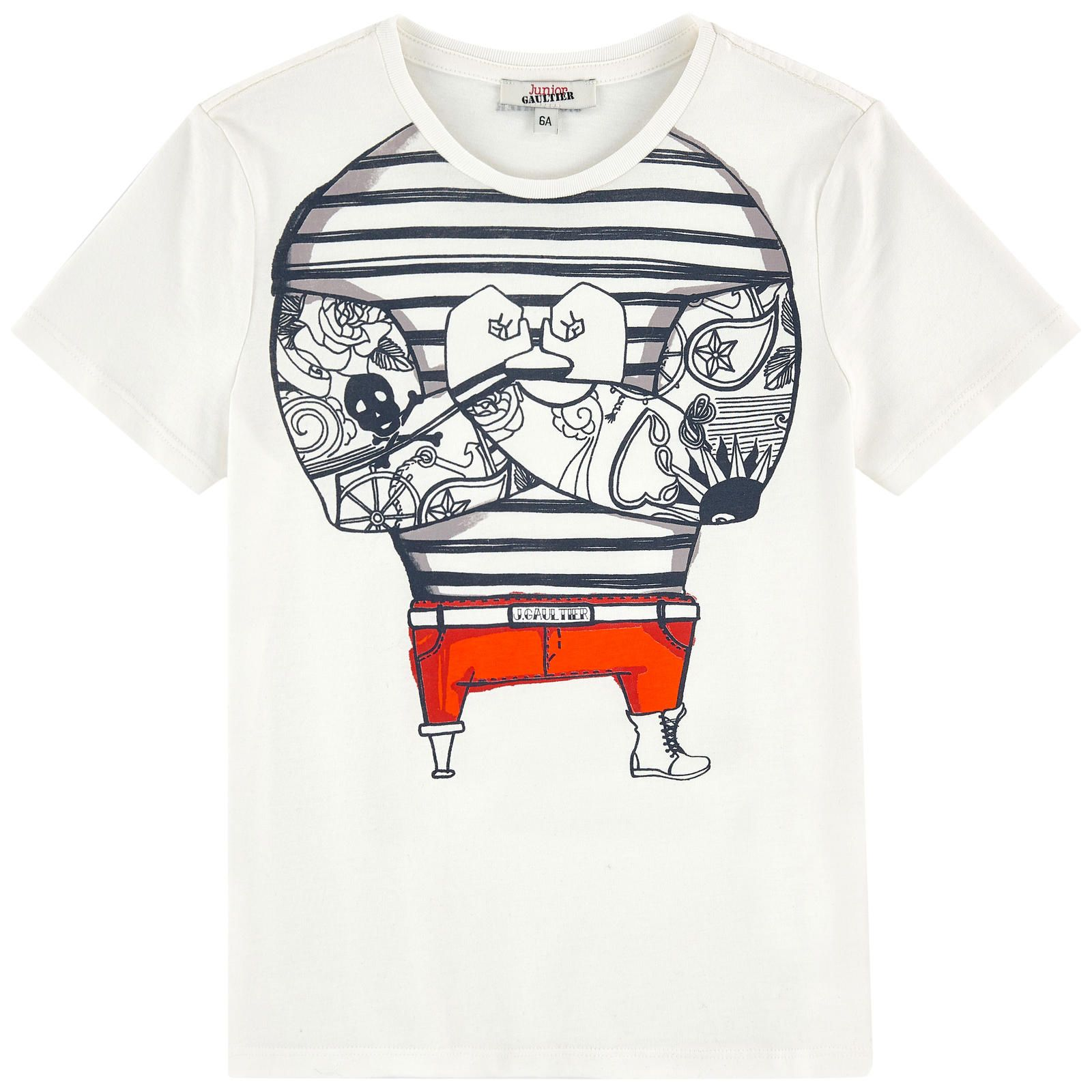 1d27751f6b036 Graphic T-shirt Junior Gaultier for boys