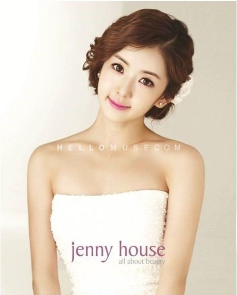 Korean Celebrity Wedding Photos: Korea Pre Wedding Photo Make-up And Hair, Korean Style