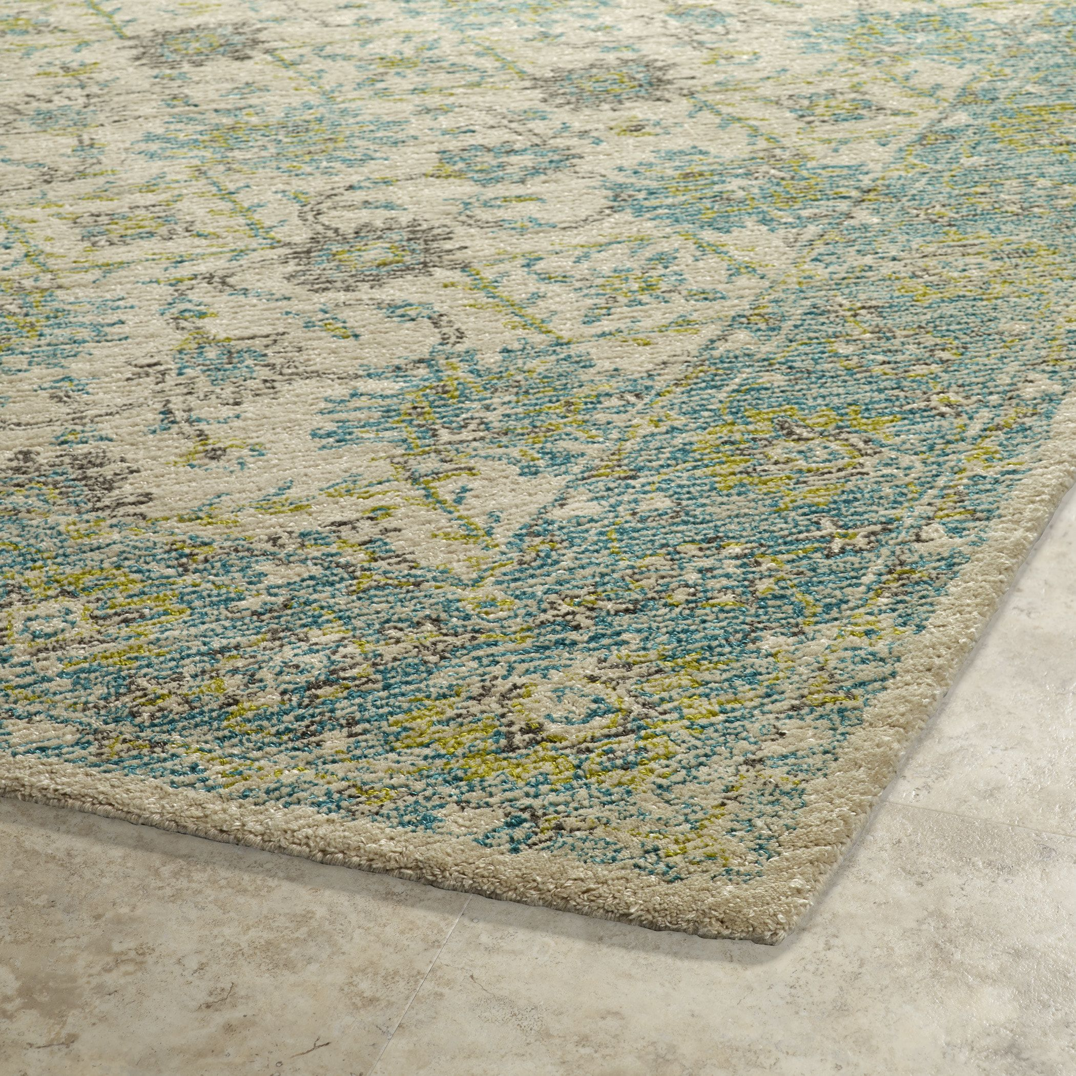 Wtr06 Color Teal Size 5 X 7 6 Area Rugs
