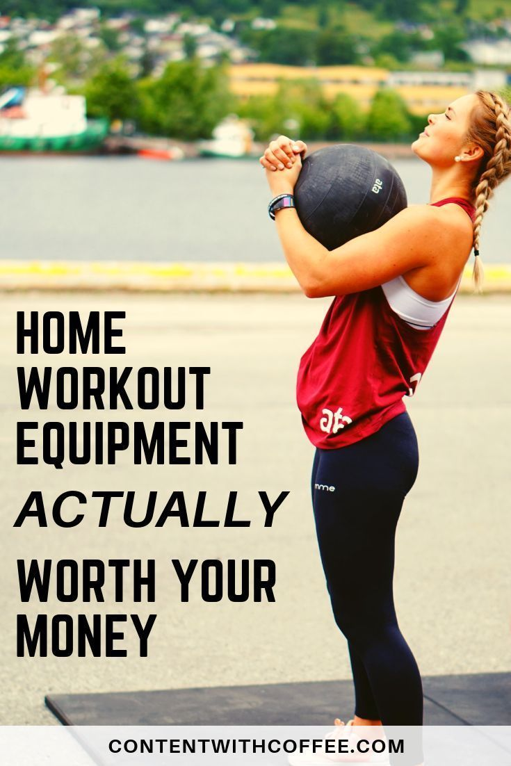 Home Exercise Equipment for Efficient and Effective Workouts - Content With Coffee #exerciseequipment