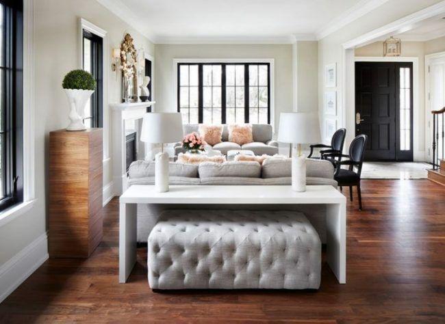 Nice Konsolentisch Hinter Sofa   Einrichtungsideen Weiss Elegant Hocker Elegant Polster