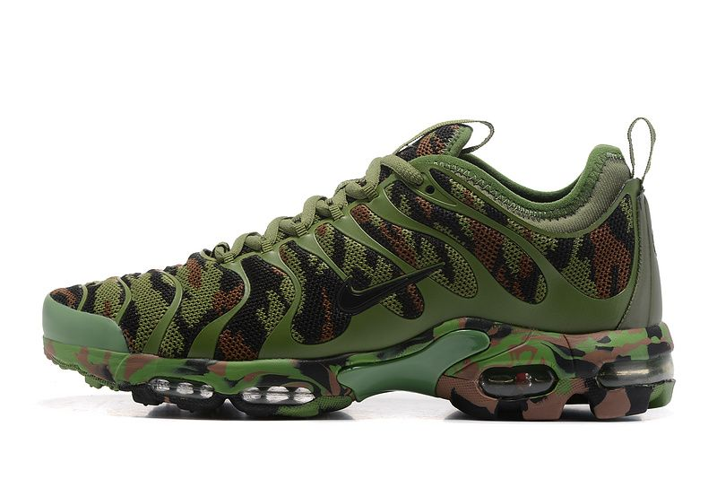 5c2bc7e6b1f711 Nike Air Max TN 2018 Plus Ultra Camo Green Women Men Shoes