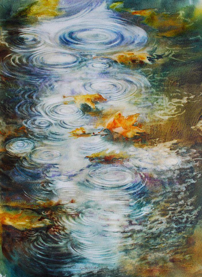 105 Aquarelliste Corinne Izquierdo Beaux Arts Peinture