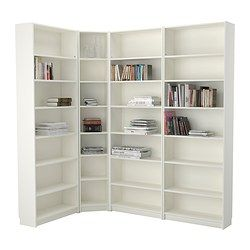 BILLY Bookcase - white - IKEA---I'm really thinking this for Matilda's new room!
