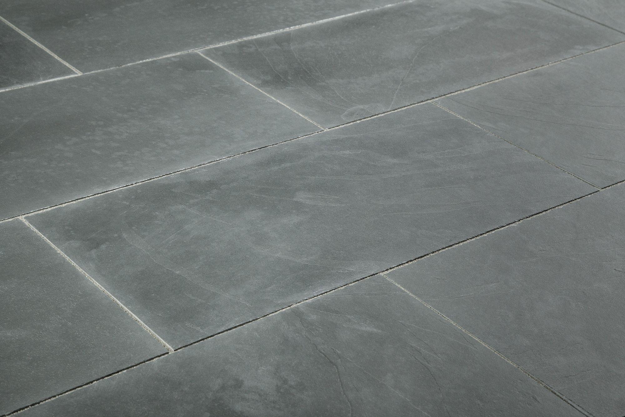 Blue Black Slate Floor Tiles Httpnextsoft21 Pinterest