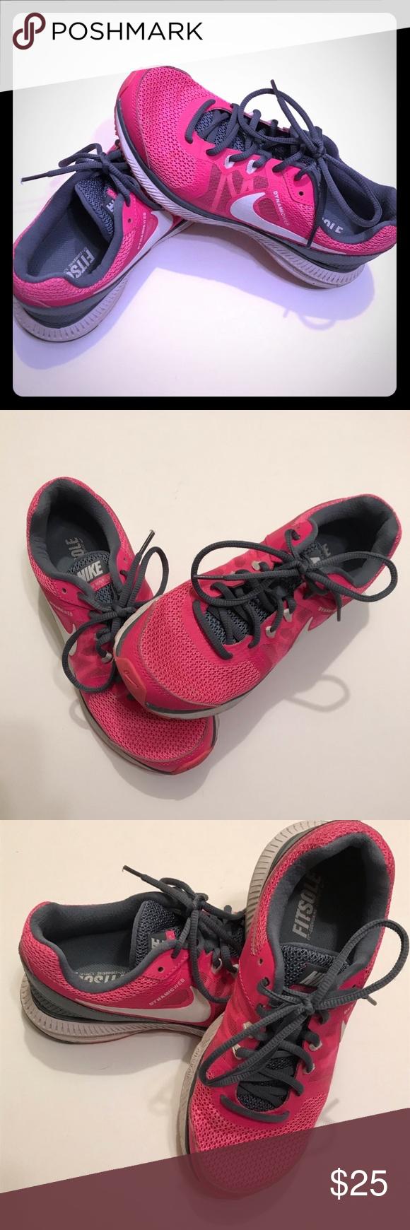 Photo of Nike Lunar Glide Running Shoes Nike Lunar Glide Running Shoes Gently used with r…