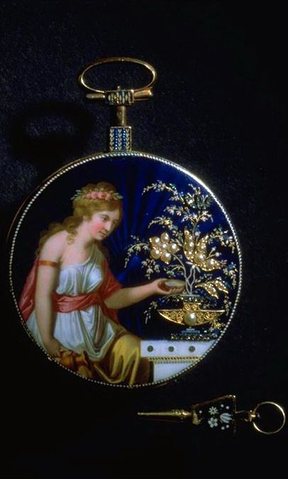 Pocket watch. seated woman in pseudo-antique costume. Watchmaker J.A. Gaudy Geneva. Gold Around 1780.  sc 1 st  Pinterest & Pocket watch. seated woman in pseudo-antique costume. Watchmaker ...