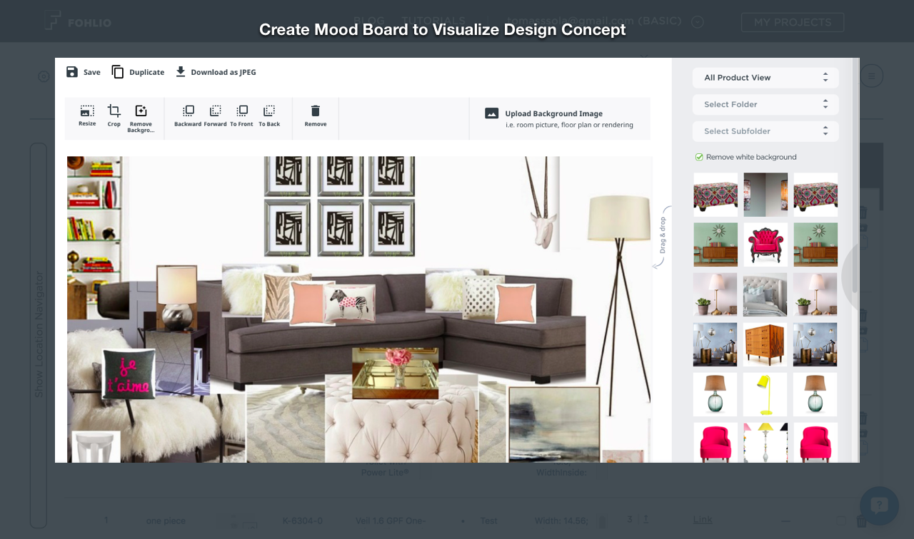 How To Create An Impactful Mood Board Without The Overkill Fohlio Interior Interior Design Meaning Interior Design