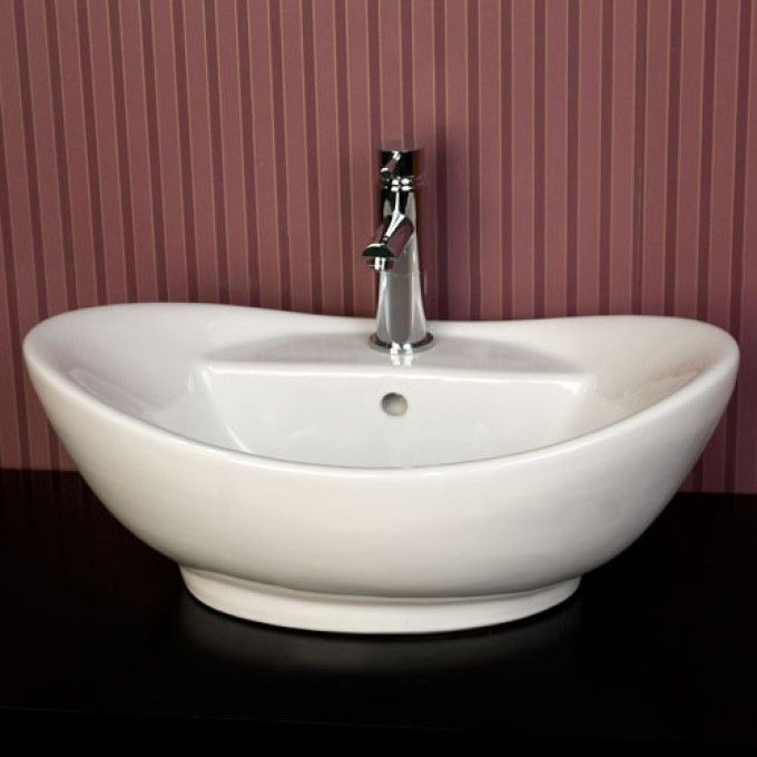 Kendrick Porcelain Vessel Sink Bathroom 部品 Pinterest Vessel - Vessel Sinks Bathroom