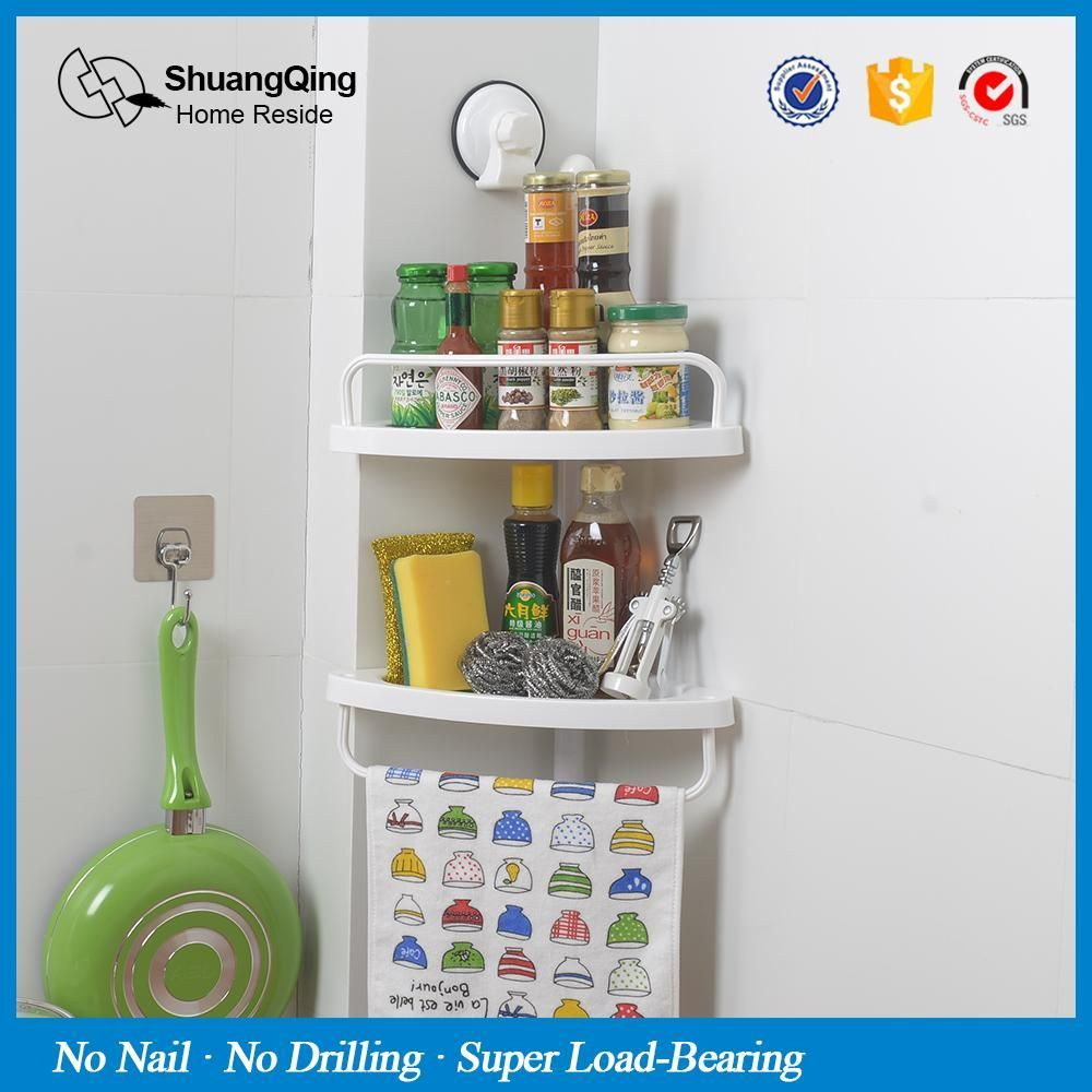 shower corner caddy bathroom corner shelf kitchen corner rack spice ...