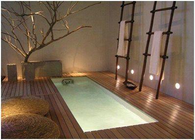 Het bubbelbad bij de zen badkamer cosy pool in 2018 pinterest