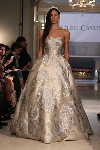 c3a90945d8e3 Marvelous Metallic Wedding Gowns | Wedding Dresses | Wedding dresses ...
