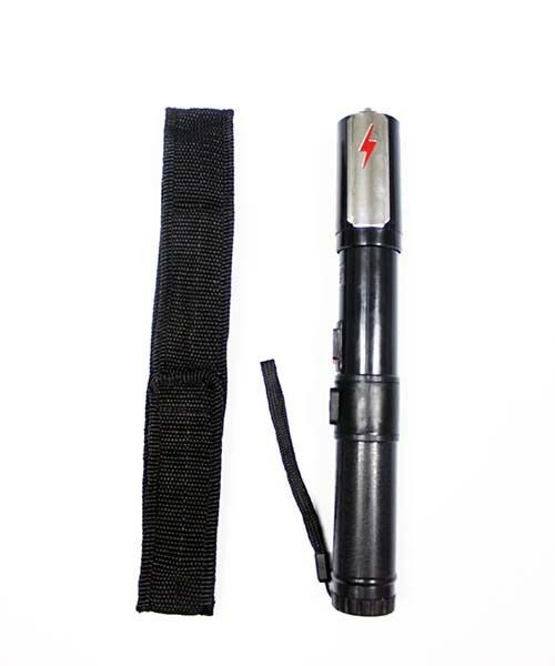 #Stun Gun With Flashlight Rechargeable Reliable Stun Gun With LED Flashlight - Self-Defense