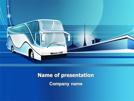 Httppptstarpowerpointtemplatecoach Bus Coach Bus