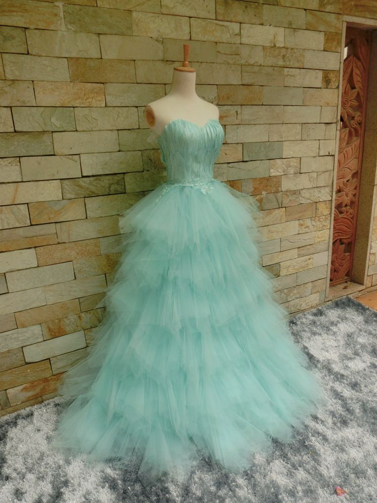 green tulle over lace dress - Google Search