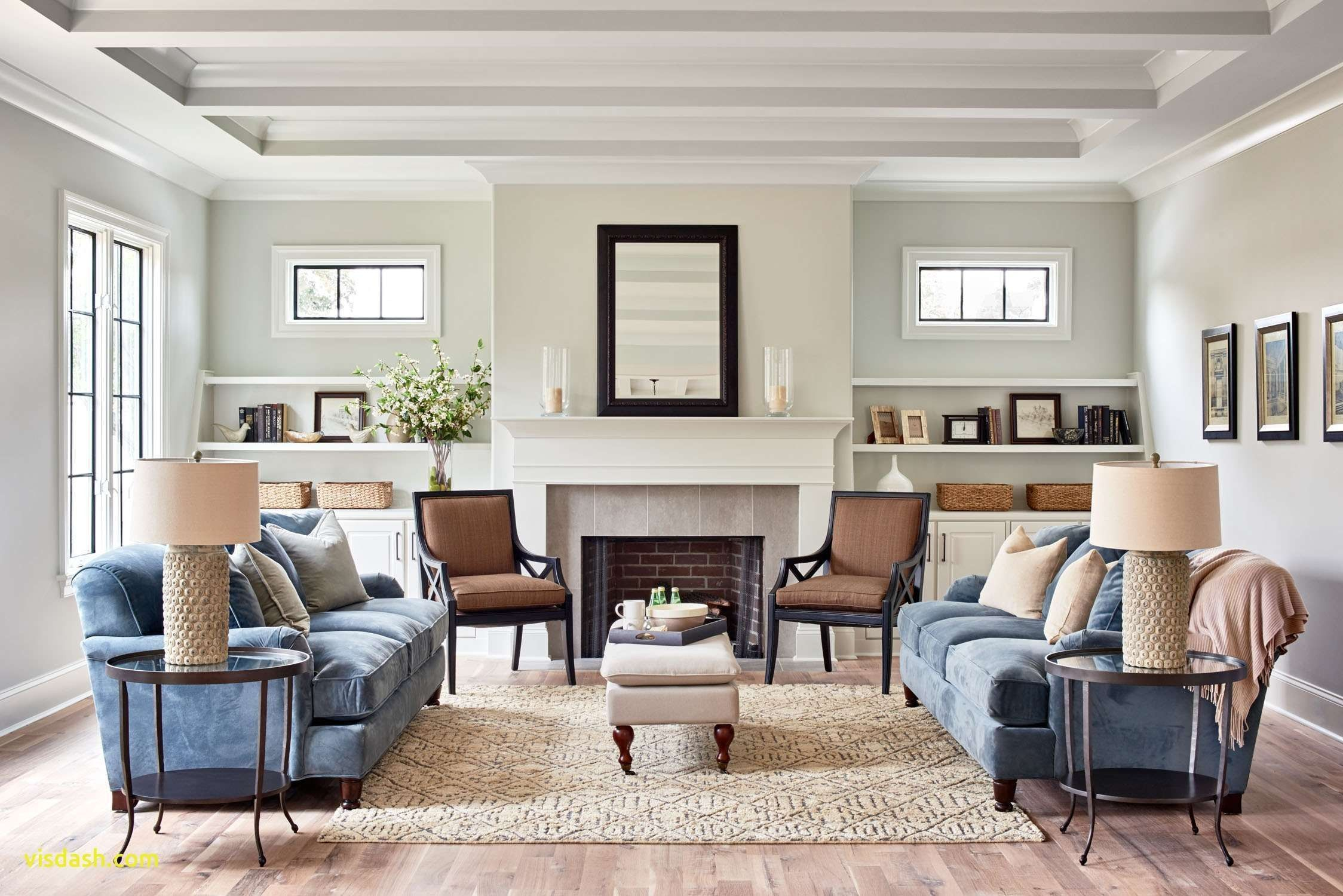 Neutral Living Room Houzz Transitional Living Room Design