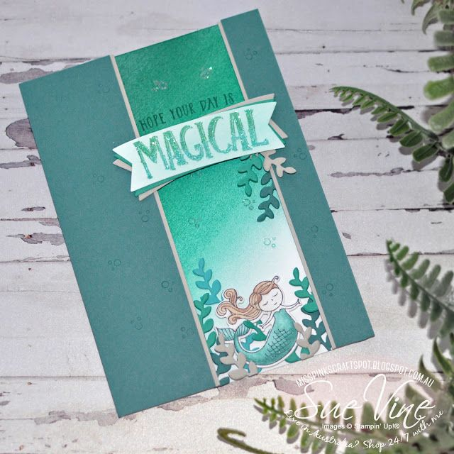 Miss Pinks Craft Spot: Magical Day goes Ombre