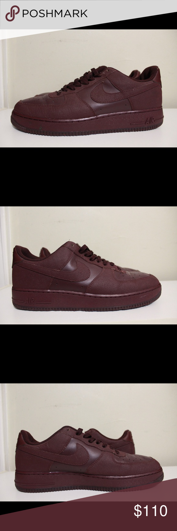21a7f0df322264 Nike AF1 Tec Tuff Burgundy 2011 Sneakers size 11.5 Nike Air Force 1 Low Tec  Tuff Deep Burgundy 2011 Basketball Sneakers Size 11.5 Good condition but  has ...