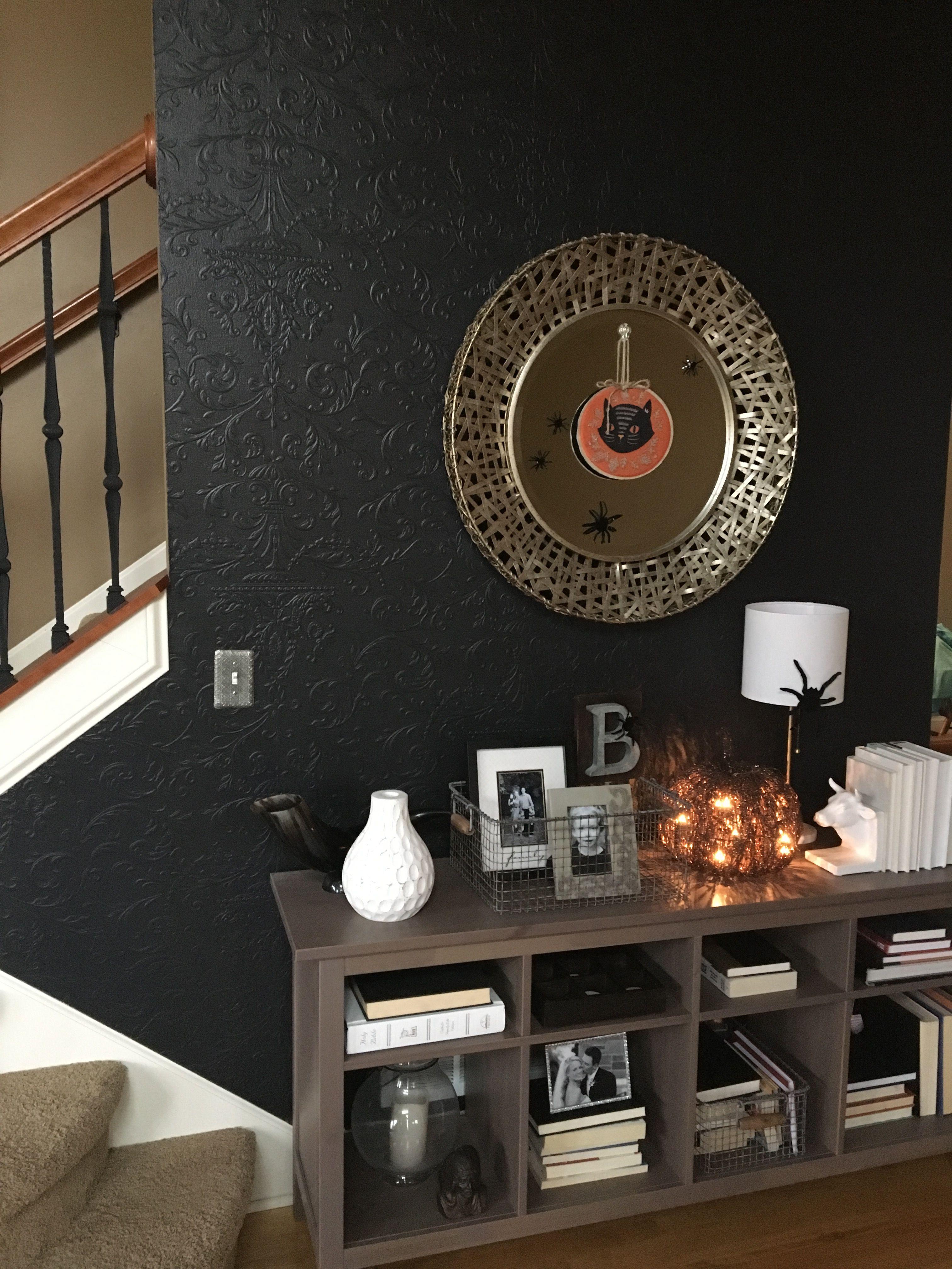 benjamin moore black jack home and paint pinterest. Black Bedroom Furniture Sets. Home Design Ideas
