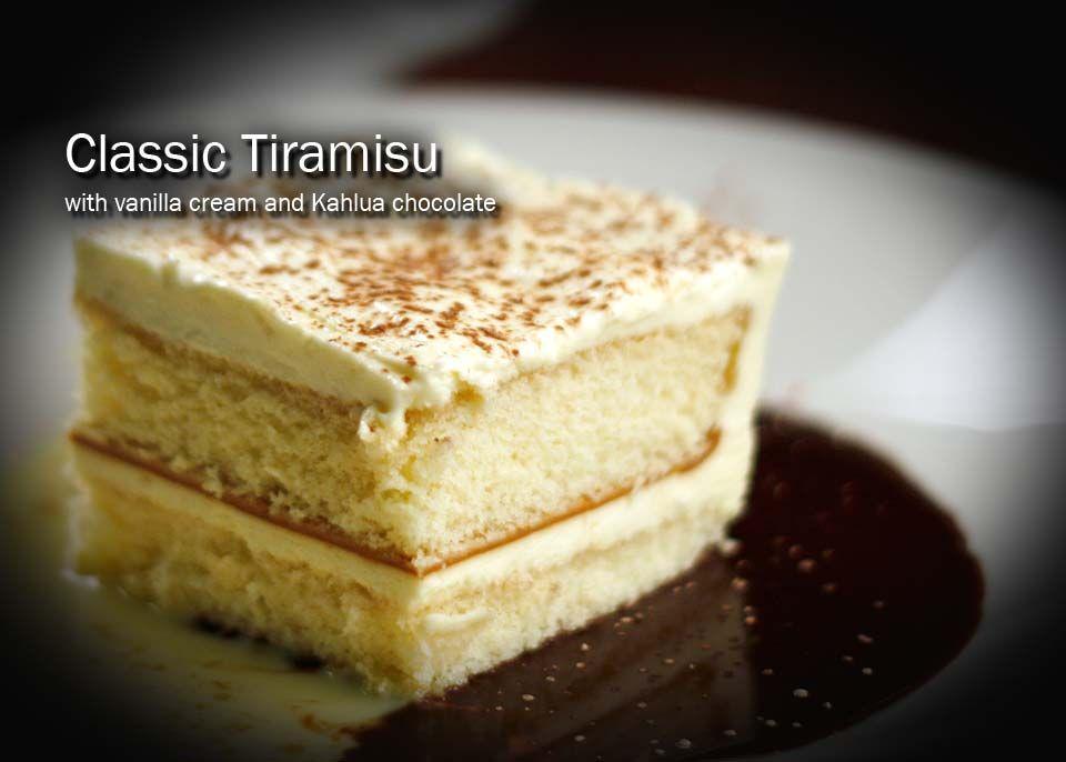 Tiramisu at amerigo italian restaurant httpwww