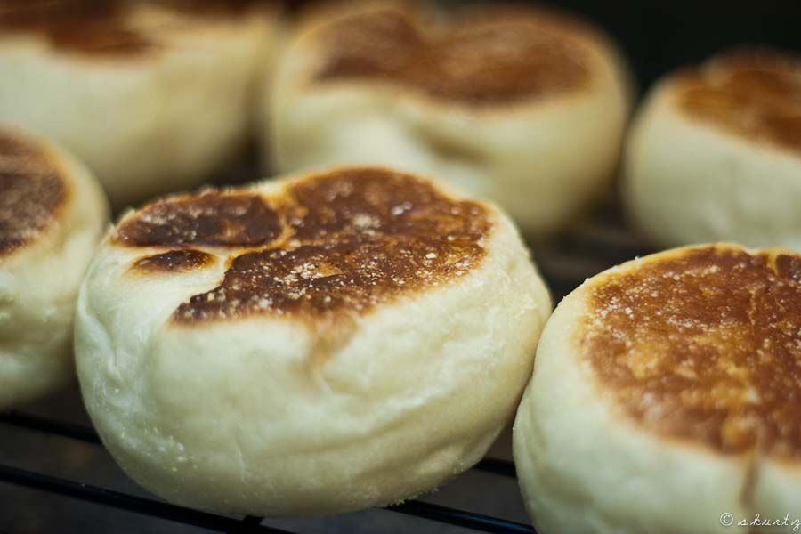 YOU can make english muffins.